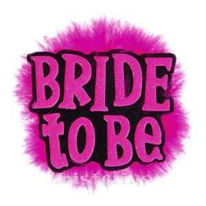Alfinete Bride To Be Preto