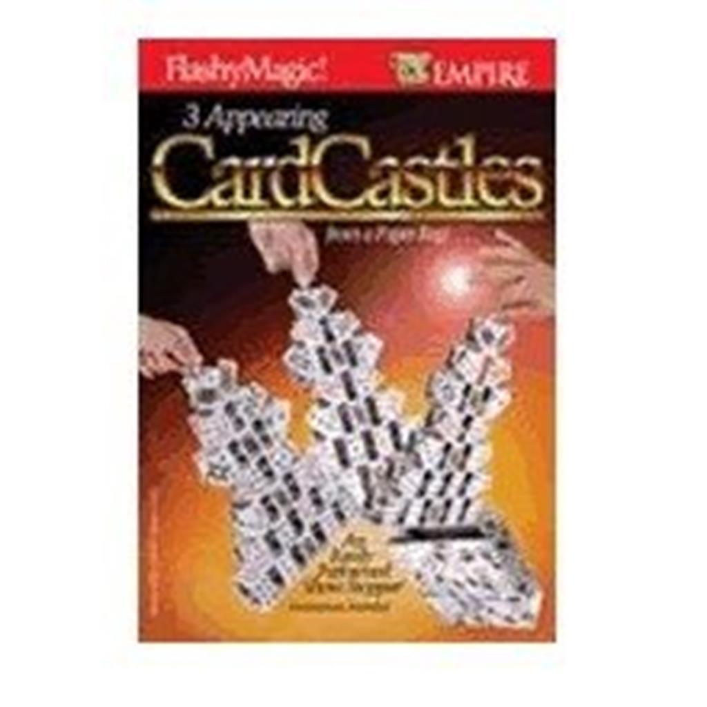 Aparição 3 Castelos de Cartas 3 Appearing Card Castles