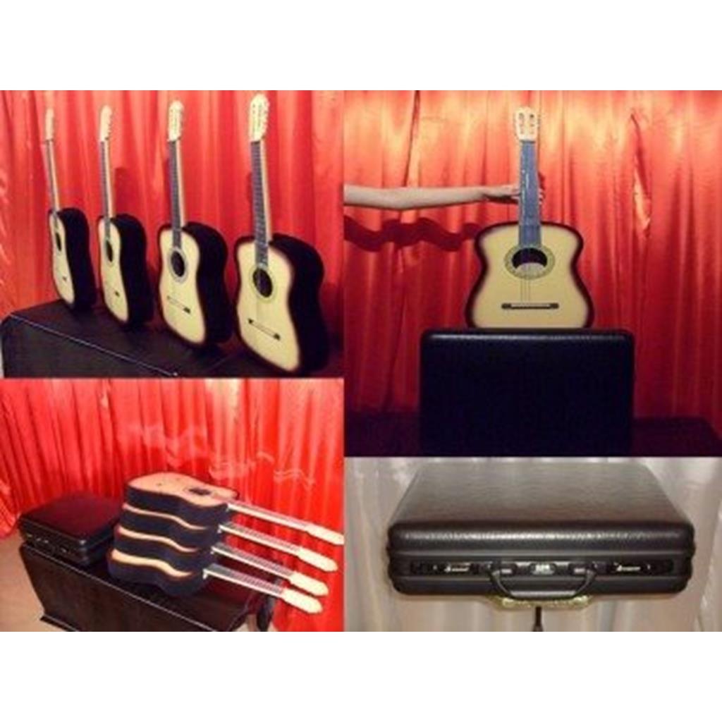 Aparição de 4 Violas - Guitarras - Appear 4 guitars frombag