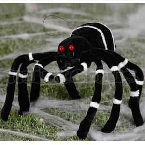 Aranha Decoração Halloween 30cm