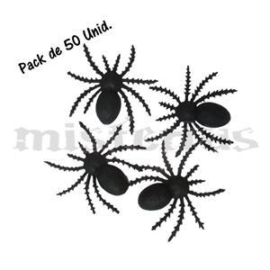 Aranhas Pack 50 Unid.