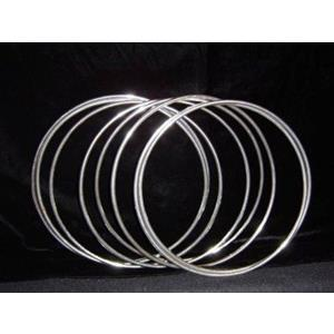 """Argolas Chinesas cromadas - Chinese Linking Rings 8""""- 20 Cm"""