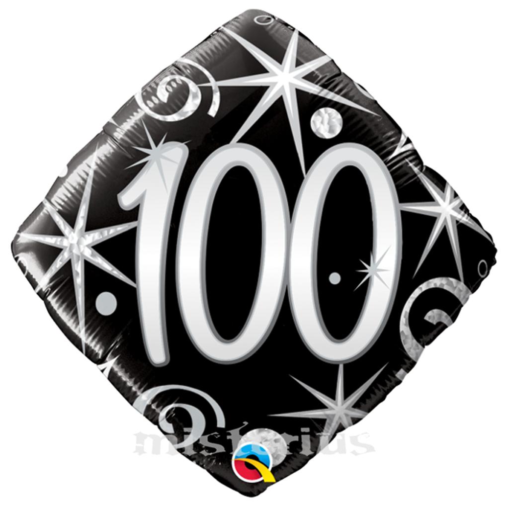 Balão 100 anos foil