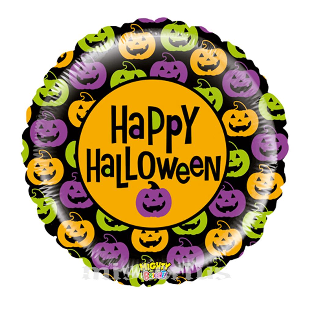 Balão Abóboras Happy Halloween