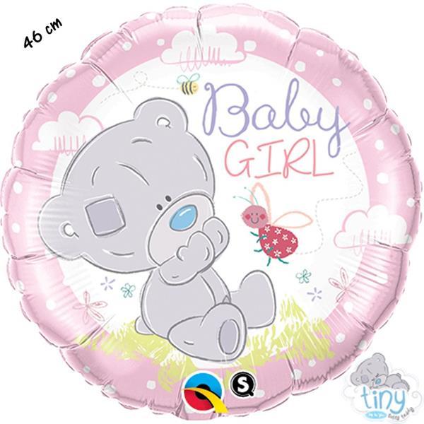 Balão Baby Girl Ursinha