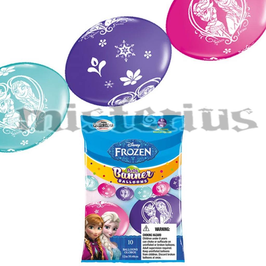 Balão Banner 10 und Frozen