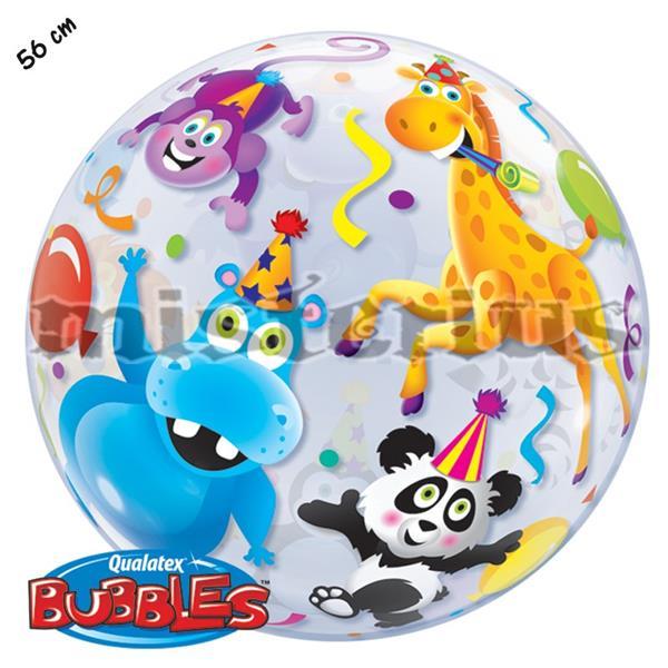 Balão Bubble Animais 56cm
