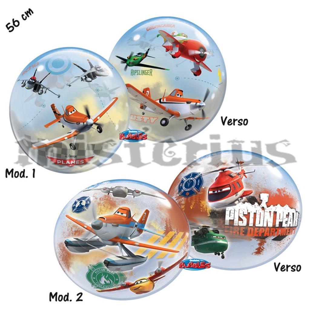 Balão Bubble Aviões Disney