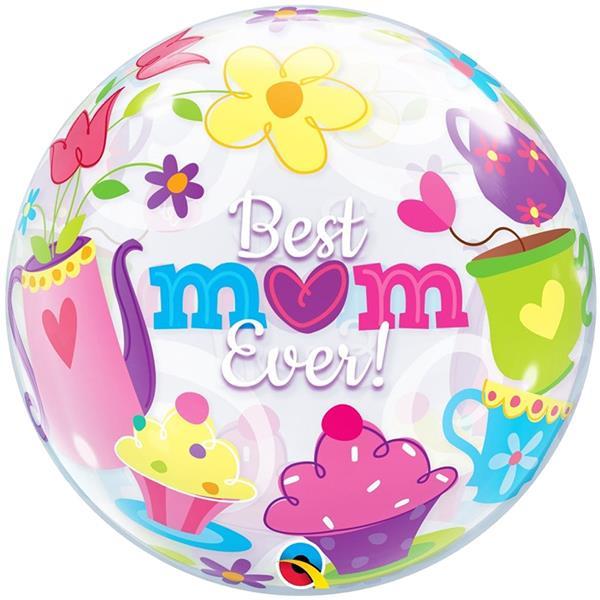 Balão Bubble Best Mom Ever