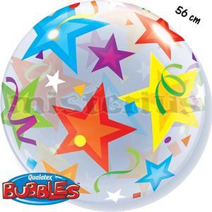 Balão Bubble Estrela 56cm
