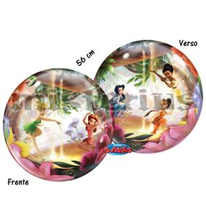 Balão Bubble Fadas Disney