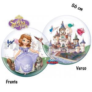 Balão Bubble Princesa Sofia