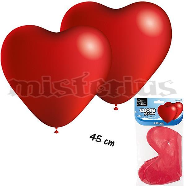 Balão Coração Gigante, 2 Unid.