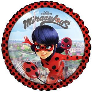 Balão Coração Ladybug