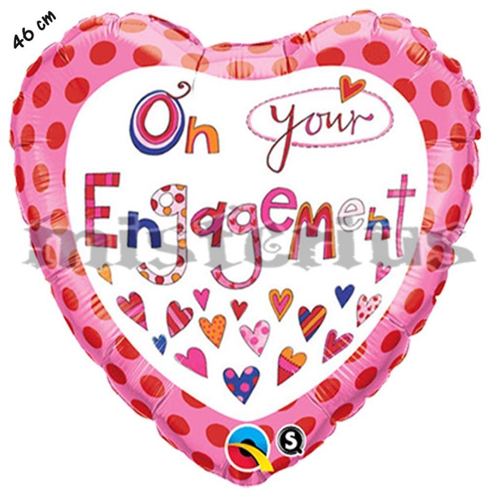 Balão Coração Noivado