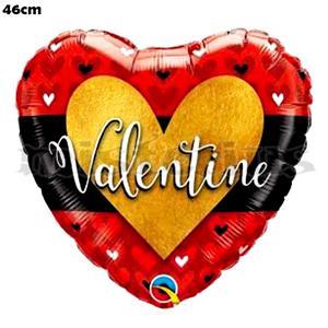Balão Coração Valentine 46cm