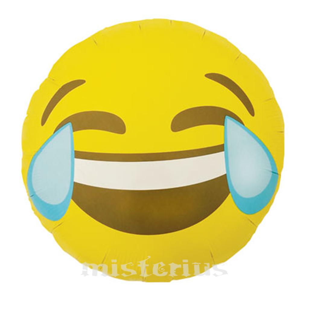Balão Emoji Chorar Rir