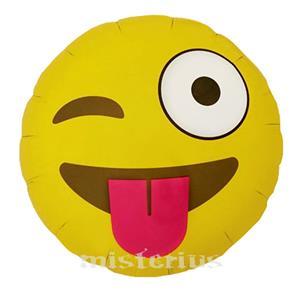 Balão Emoji Língua