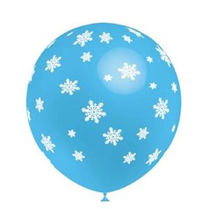 Balão Flocos Neve, 8 unid.