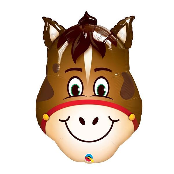 Balão Foil Cavalo Sorridente