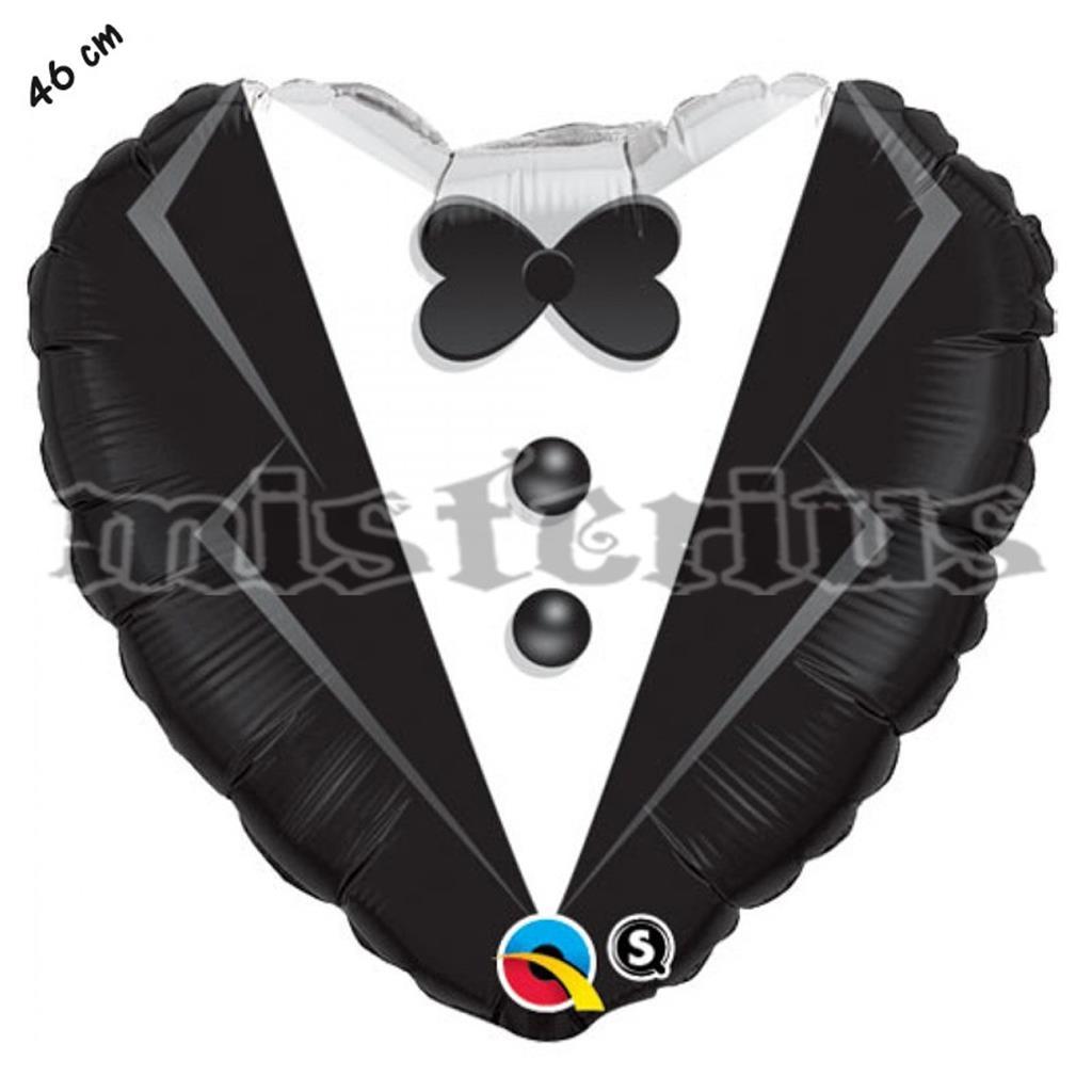 Balão Foil Coração Noivo