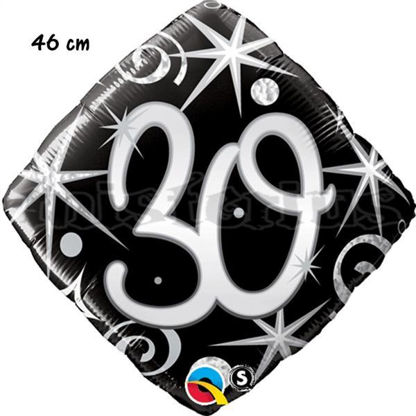 Balão Foil Diamond 30 Elegant Sparkles