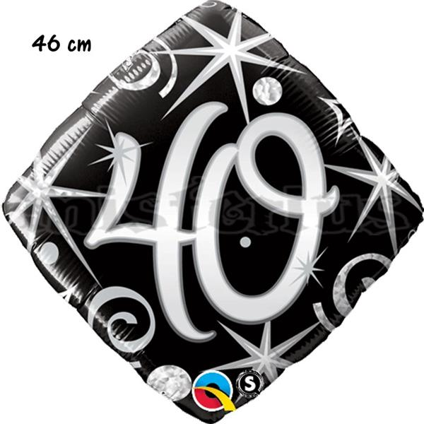 Balão Foil Diamond 40 Elegant Sparkles