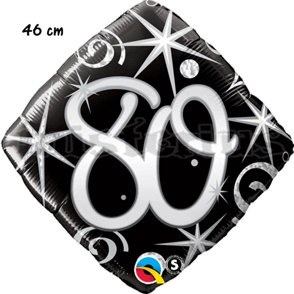Balão Foil Diamond 80 Elegant Sparkles