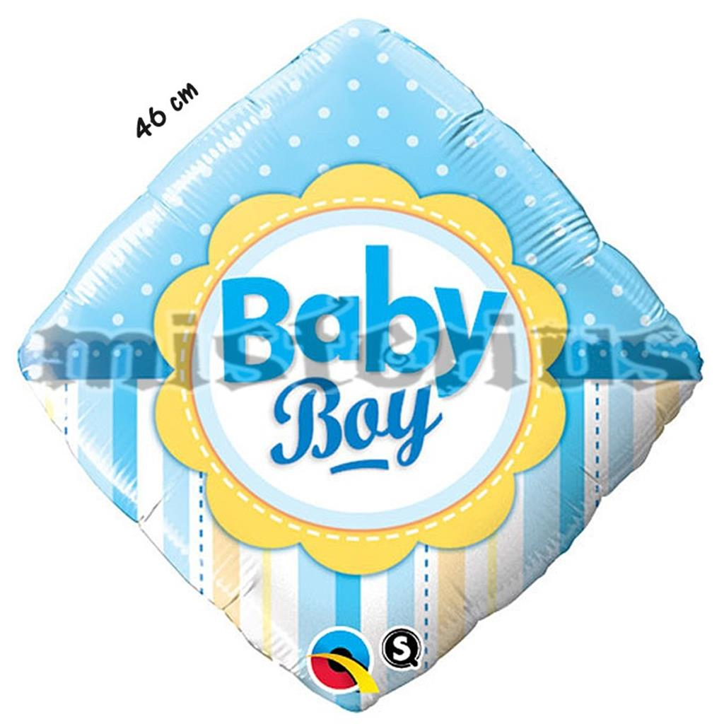 Balao Foil Diamond Baby Boy