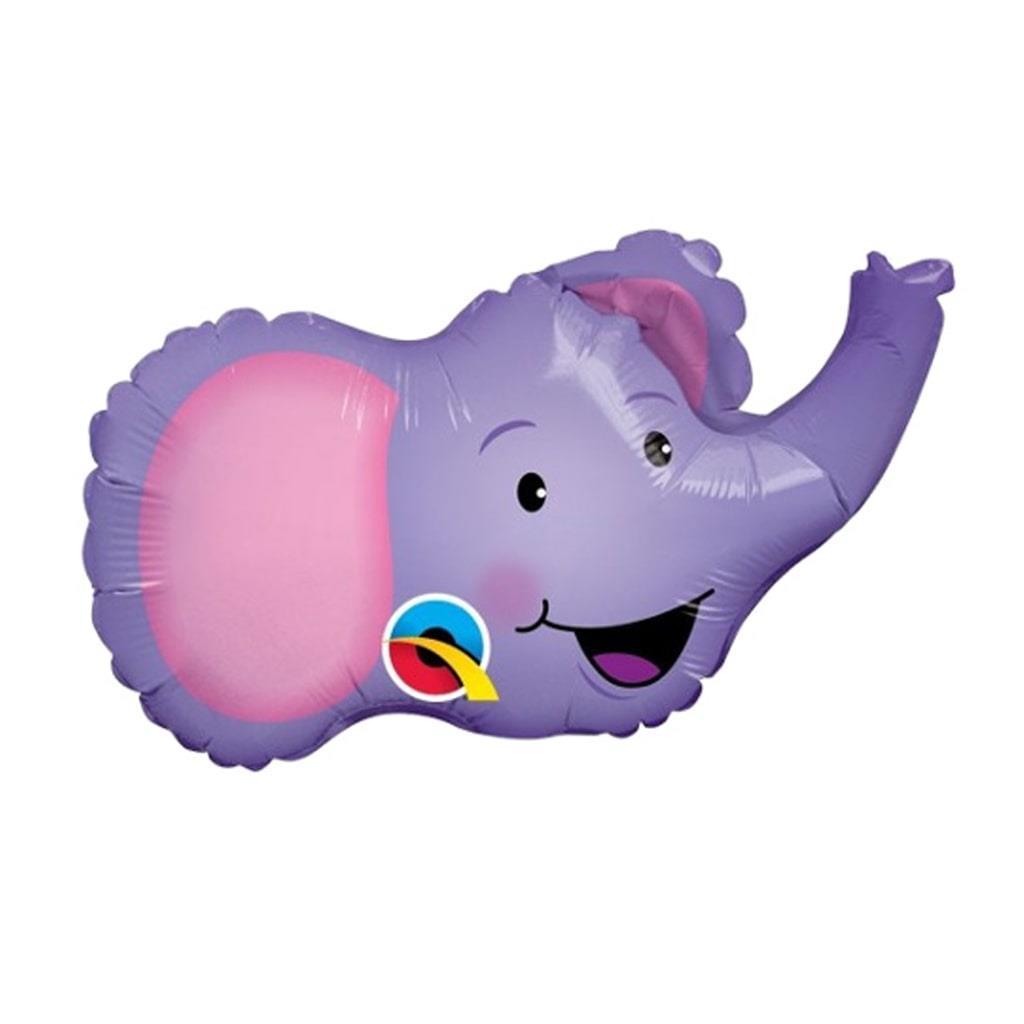 Balão Foil Elefante Sorridente