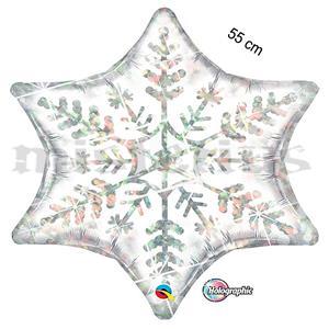 Balão Foil Floco de Neve 55 cm