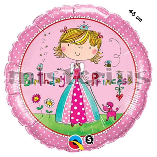 Balao Foil Happy Princesa