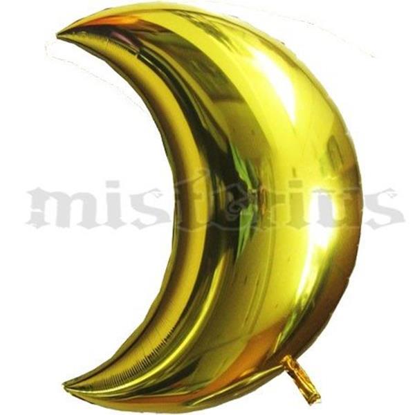 Balão Foil Lua Dourado