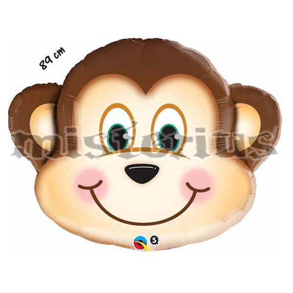 Balão Foil Macaco Shape