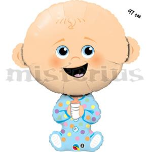 Balão Foil Menino Bebé, 97cm