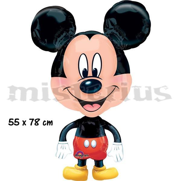 Balão Foil Mickey Corpo Inteiro Pequeno