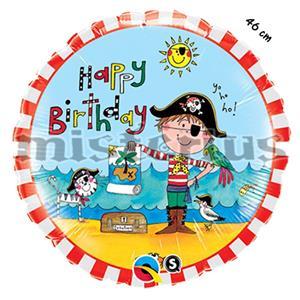 Balão Foil Pirata 46 cm