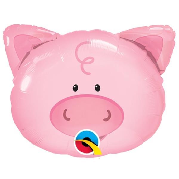 Balão Foil Porco Sorridente