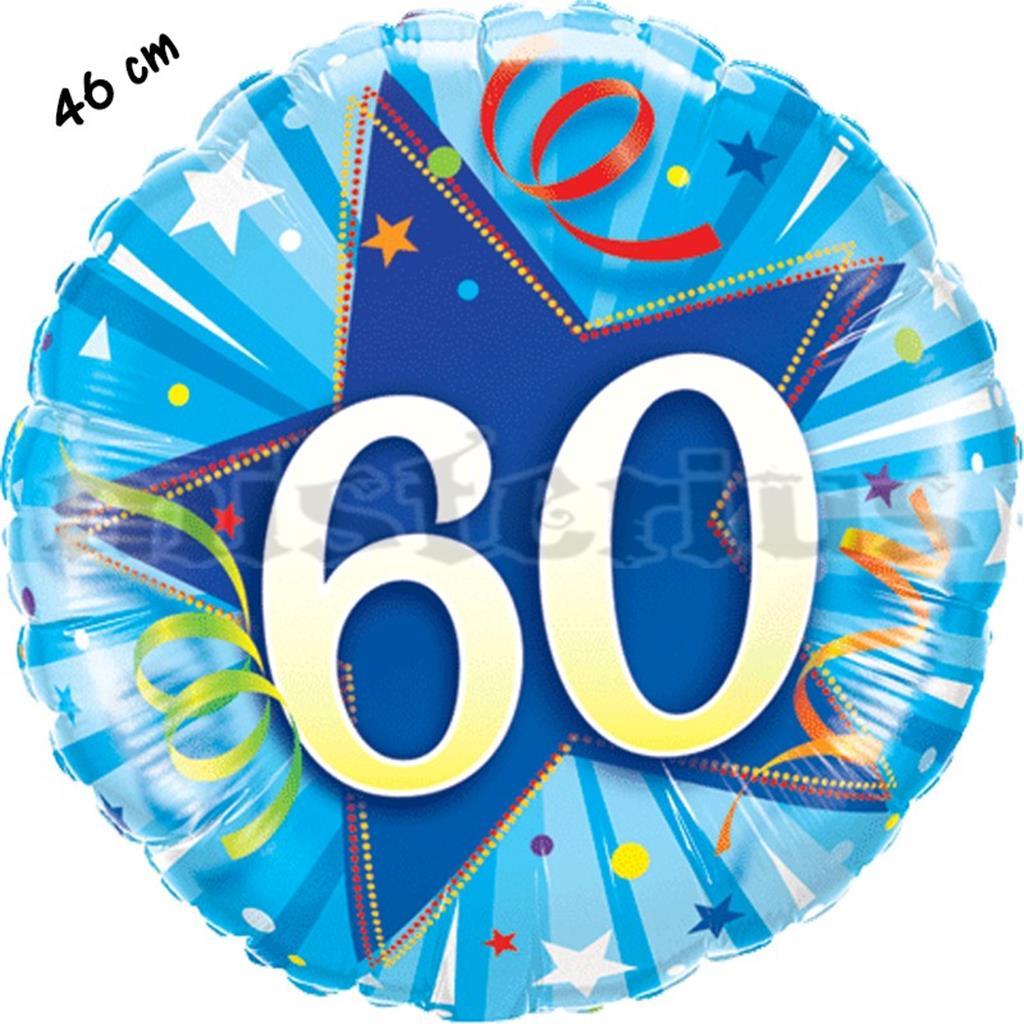 Balão Foil Redondo 60 Shining Star Azul