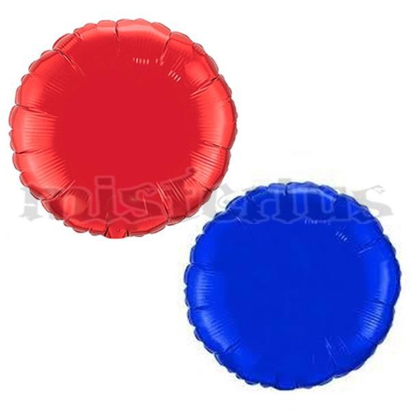 Balão Foil Redondo Metalizado 10 cm