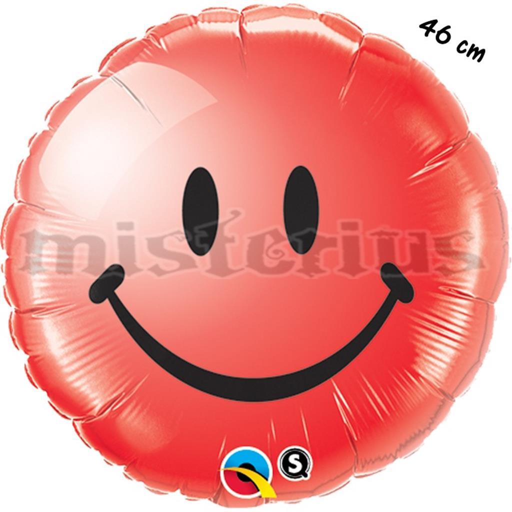Balão Foil Smiley Red 46 cm
