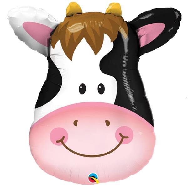 Balão Foil Vaca Sorridente