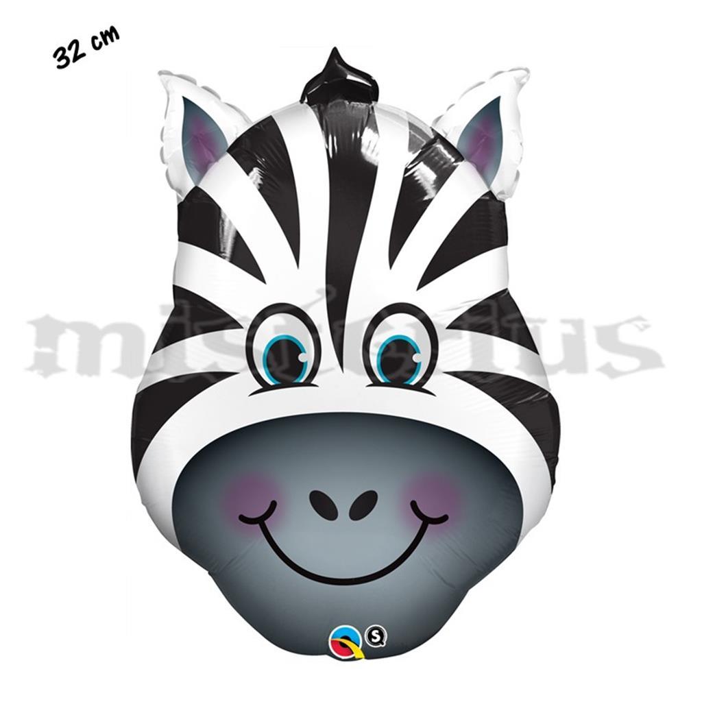 Balão Foil Zebra Sorridente