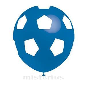Balão Futebol Azul, 8un