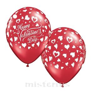 Balão Happy Valentine´s Day 6 un