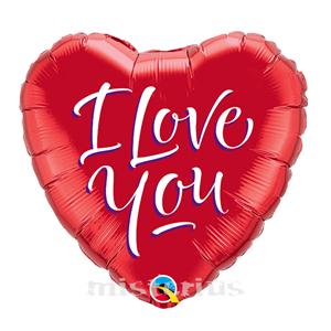 Balão I Love You Foil