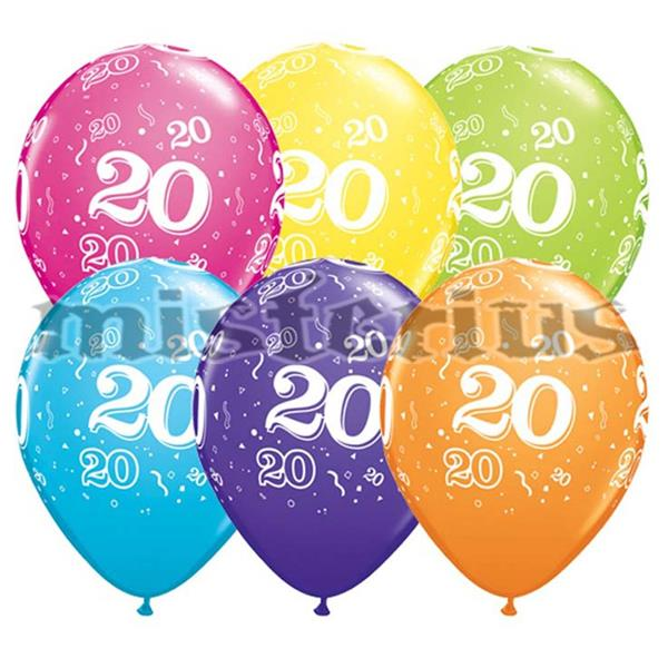 Balao Latex 20 Anos 6 und Multicor