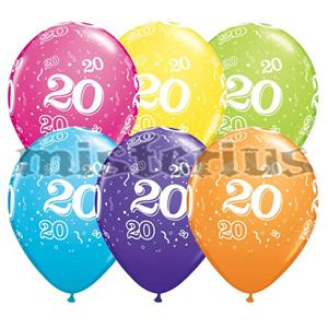 Balao Latex 20 Anos 6 und Multicor