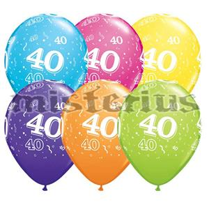 Balao Latex 40 Anos 6 und Multicor