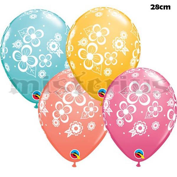 Balão Latex Flores